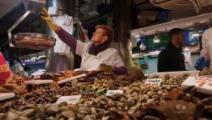 De la mar al plato. Mercado de Santander, 9:30 a.m.